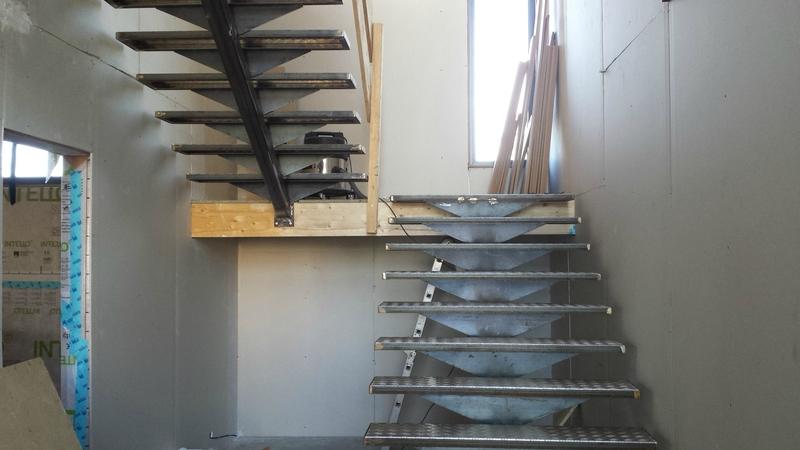 escalier industriel sur aubagne romuald noirot. Black Bedroom Furniture Sets. Home Design Ideas